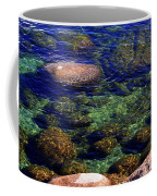 Rocks Ripples And Reflections Coffee Mug