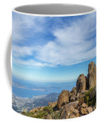 rocky Australian mountain summit Coffee Mug