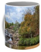 Rocky Falls In The Fall Coffee Mug