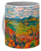 Rocky Knob In Fall Coffee Mug