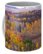 Rocky Mountain Autumn View Coffee Mug