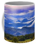 Rocky Mountain Cloud Layers Coffee Mug