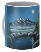 Rocky Mountain Fullmoon Coffee Mug