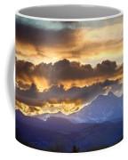 Rocky Mountain Springtime Sunset 3 Coffee Mug by James BO  Insogna