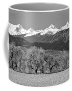 Rocky Mountain View Bw Coffee Mug