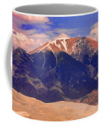 Rocky Mountains And Sand Dunes Coffee Mug