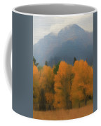 Rocky Mountains Colorado Autumn  Coffee Mug