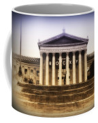 Rocky On The Art Museum Steps Coffee Mug