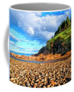 Rocky Oregon Beach Coffee Mug