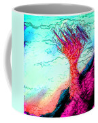 Rocky Outcrop Outline Of Quiver Tree Coffee Mug