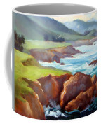 Rocky Point Afternoon Big Sur Coffee Mug