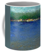 Rocky Point Dream At Bass Lake Coffee Mug