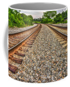 Rocky Railroad Rails Coffee Mug