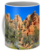 Rocky Range At Red Canyon Coffee Mug