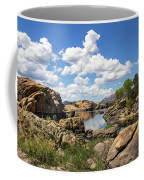 Rocky Shore And Pristine Water Coffee Mug