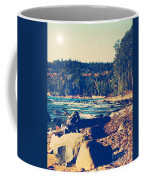 Rocky Shores Of Lake Superior Coffee Mug