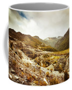 Rocky Valley Mountains Coffee Mug