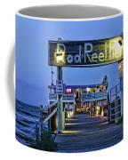 Rod And Reel Pier Coffee Mug