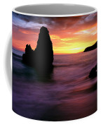 Rodeo Beach At Sunset, Golden Gate Coffee Mug