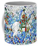 Rodeo Wrangler Mosaic Coffee Mug