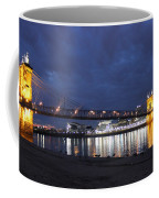 Roebling Bridge Span Coffee Mug