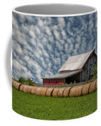 Rolled Up - Hay Rolls And Barn Coffee Mug