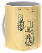 Rolleiflex Medium Format Twin Lens Reflex Tlr Patent Coffee Mug