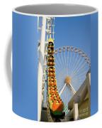 Roller Coaster And Ferris Wheel Coffee Mug