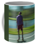 Rollerbladers In Forest Park Coffee Mug