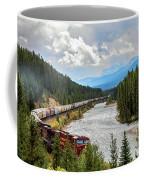 Rollin Down The Track Coffee Mug