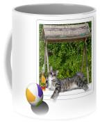 Rolling Beach Ball  Coffee Mug