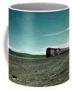 Rolling Freight Train Coffee Mug