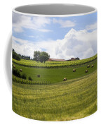 Rolling Green Hills With Trees Coffee Mug