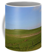 Rolling Hills And Fields Along The Cliff's Of Moher Coffee Mug