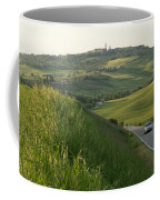 Rolling Hills Cradle A Winding Road Coffee Mug