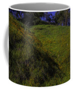 Rolling Hills With Poppies Coffee Mug