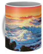 Rolling Ocean Surf - Plein Air Coffee Mug