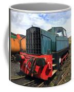 Rolls Royce Sentinel Dl83 Diesel Shunter At The Nene Valley Railway Coffee Mug