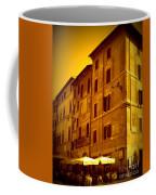 Roman Cafe With Golden Sepia 2 Coffee Mug