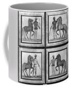 Roman Mosaic: Charioteers Coffee Mug