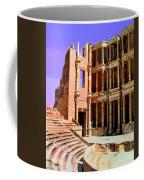 Roman Ruins At Sabrayha Coffee Mug