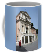 Roman Soldier In Red Coffee Mug