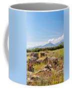 Roman Villa Ruins On Crete Coffee Mug