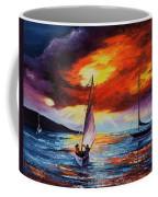 Romancing The Sail Coffee Mug