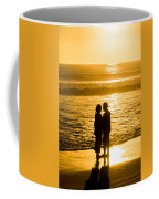 Romantic Beach Silhouette Coffee Mug