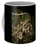 Romantic Garden And Bridge Coffee Mug