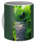 Romantic Garden Scene Coffee Mug