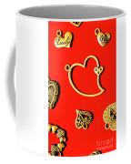 Romantic Heart Decorations Coffee Mug