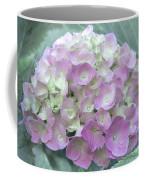 Romantic Pink Hydrangea Coffee Mug