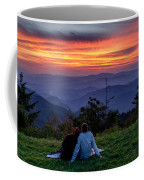 Romantic Smoky Mountain Sunset Coffee Mug